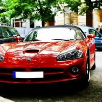 red-sport-car